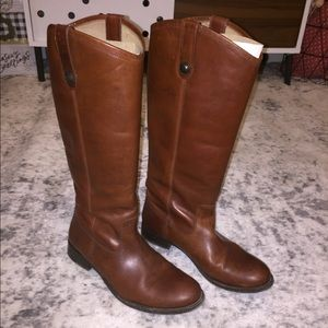Women's size 8 Frye tall leather boots